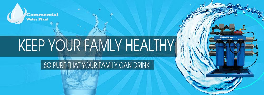 Keep Your Family Healthy With Commercial Ro Water Purifier Plant Ro Water Purifier Water Purifier Water Solutions