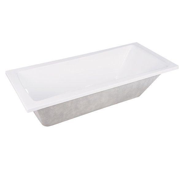 Photo of Aqua Eden 59″ x 30″ Drop in Soaking Bathtub