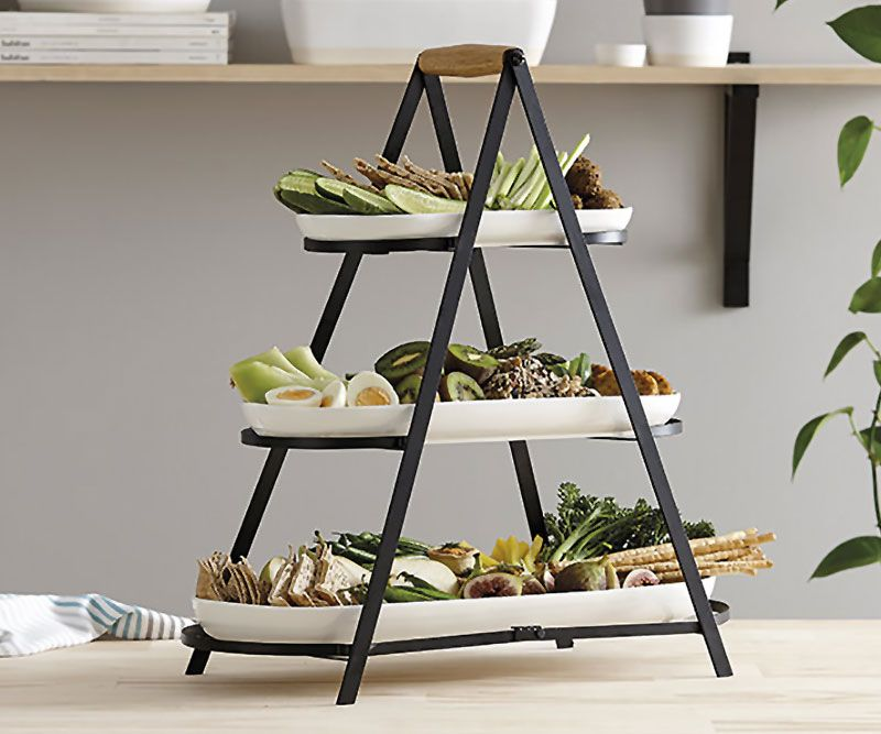Serve Share Tower 3 Tier Tray Stand Home Decor Online New Arrivals Tiered Tray Stand Home Decor Online Tiered Tray