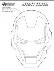 Printable Ironman Mask Google Search Iron Man Mask Iron Man Birthday Iron Man