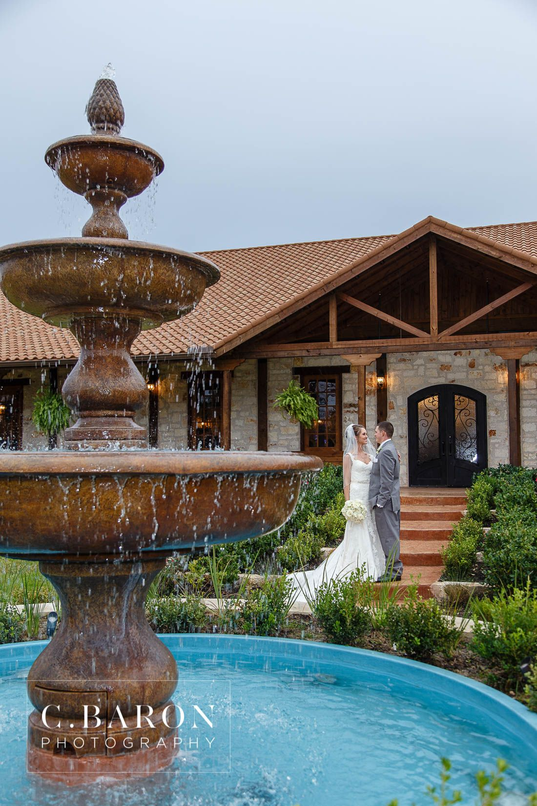 The Gorgeous Fountain Outside Of THE SPRINGS Event Venue In Brookshire TX Just Katy Most Beautiful And Elegant Wedding Near