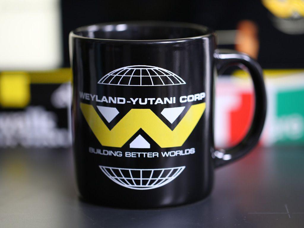 Weyland Yutani Corporate Mug Home Is Where My Stuff Is