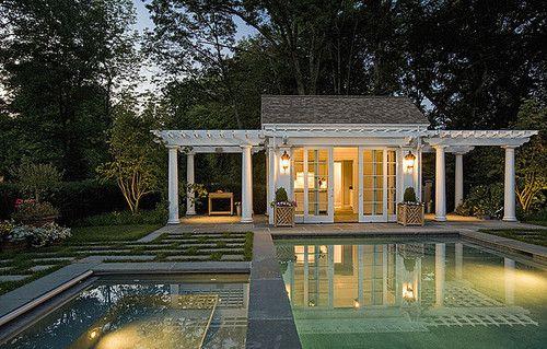 Expensivelife Tumblr Com Small Pool Houses Pool Houses Pool House Plans