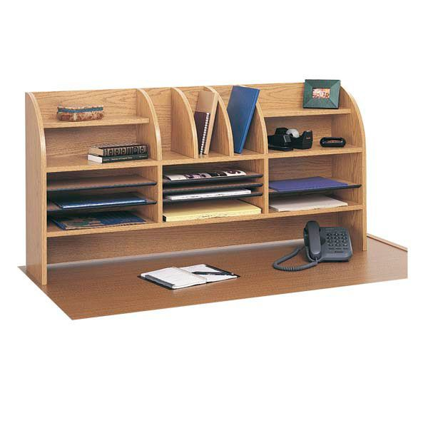 """Desktop Organizer From """"Creating The Perfect Home Office"""