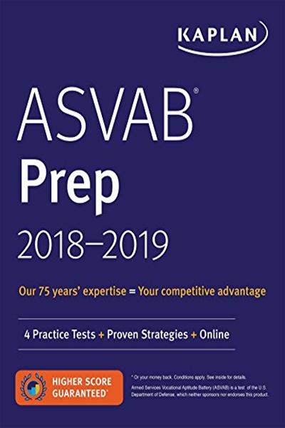 ASVAB Prep 20182019 4 Practice Tests + Proven Strategies