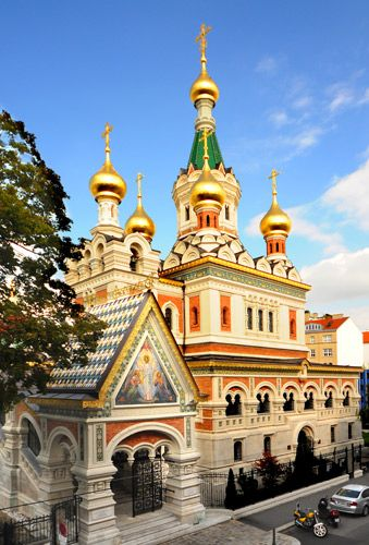 Orthodox Church, Vienna, Austria | Iglesia ortodoxa rusa, Iglesias ...