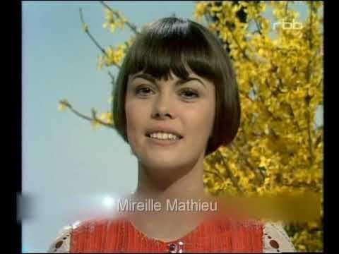 Mireille Mathieu---The Best German Folksongs /Les Chansons ...
