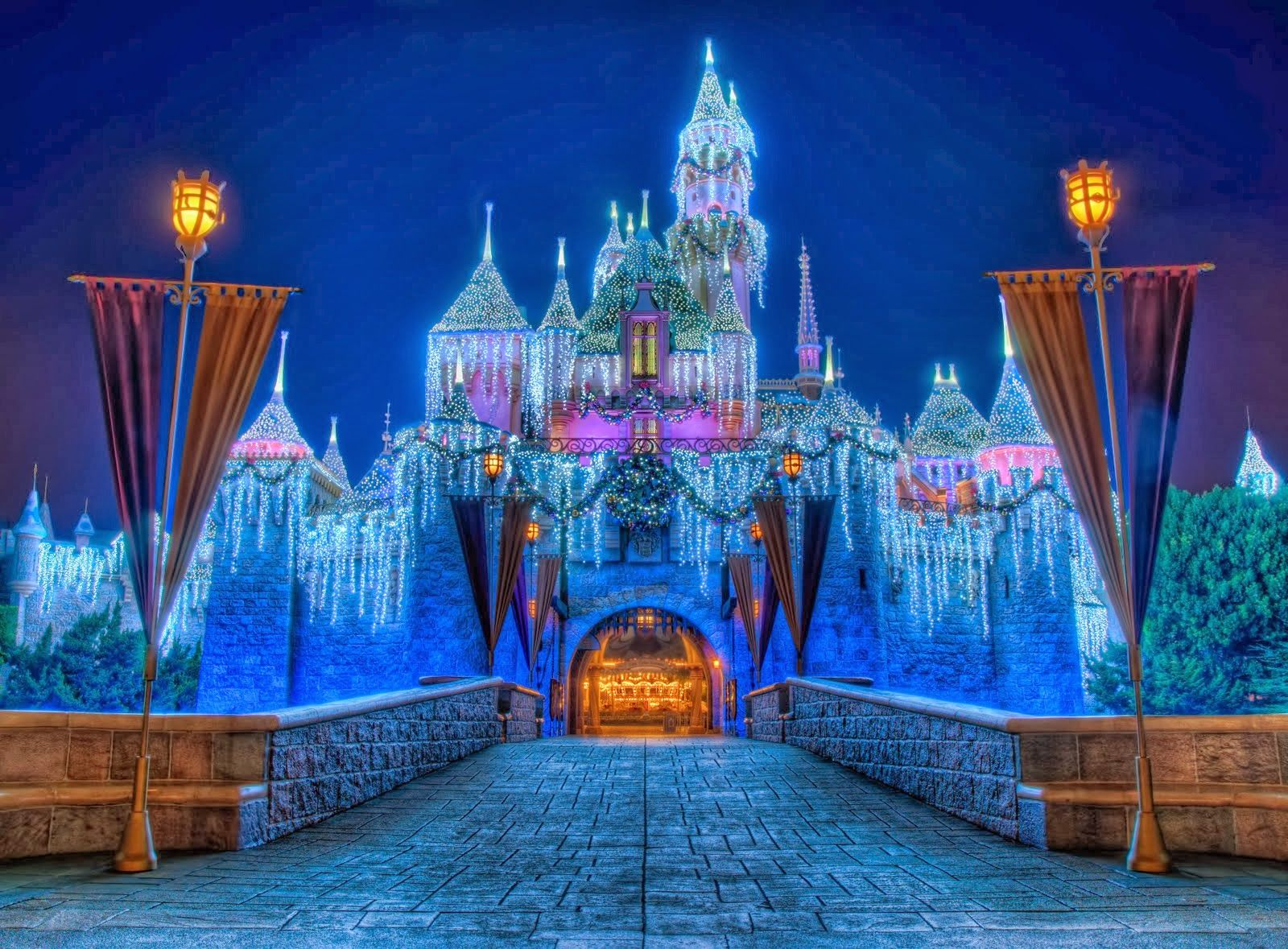 Christmas Castle Pictures HD Wallpapers Blog