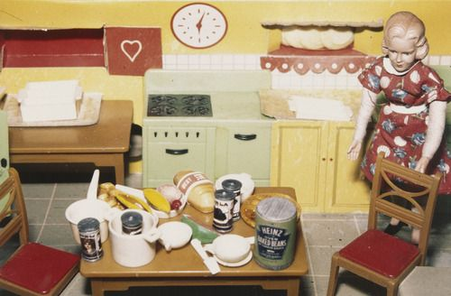 Laurie Simmons. Blonde/Red Dress/Kitchen, from the series Interiors. 1978