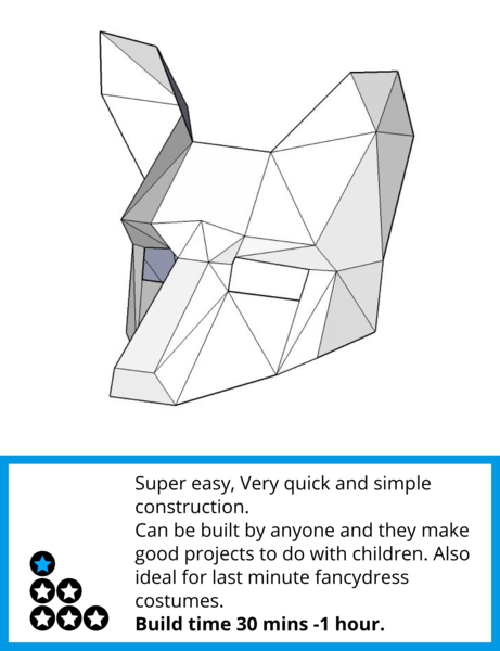 Image Result For Fox Half Mask Wintercroft Paper Mask Template Fox Mask Cardboard Mask