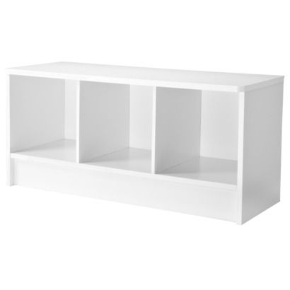 Superb Circo® Storage Bench   White $50