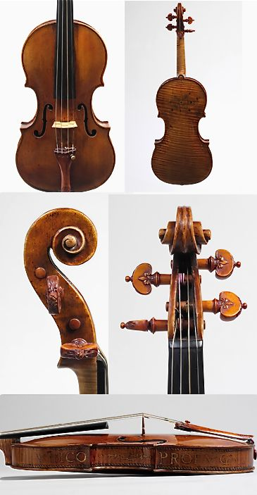 Violin, ca. 1560 Andrea Amati (Italian, ca. 1505–1578) Italy (Cremona) Maple, spruce, various other materials