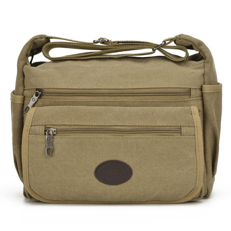 bdbcdef95cbb Casual Men s Messenger Bags Vintage Male Crossbody Military Bags Canvas Men  Travel Satchel Shoulder Bags Business