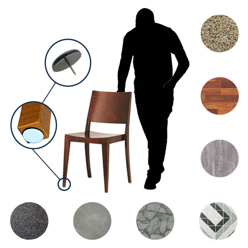 The Complete Surface Guide To Furniture Glides Furniture Glides Furniture Cool Furniture