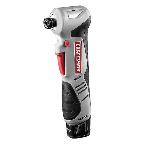 Black Friday Craftsman 9 17562 Nextec 12 Volt Right Angle Impact Driver From Craftsman With Images Impact Driver Cordless Drill Reviews Craftsman