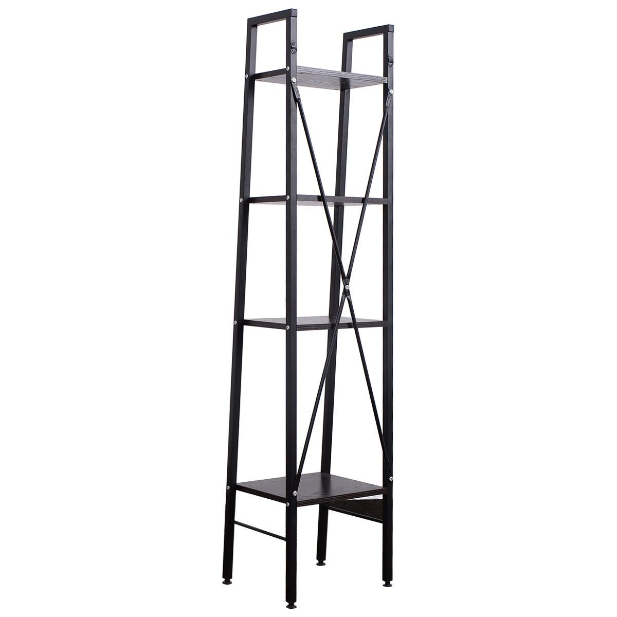 Tier ladder bookshelf furniture pinterest ladder bookshelf