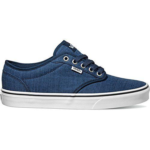 34c234b73d VANS Atwood Shoes UK 11 Distress Dress Blue White - http   buyonlinemakeup.