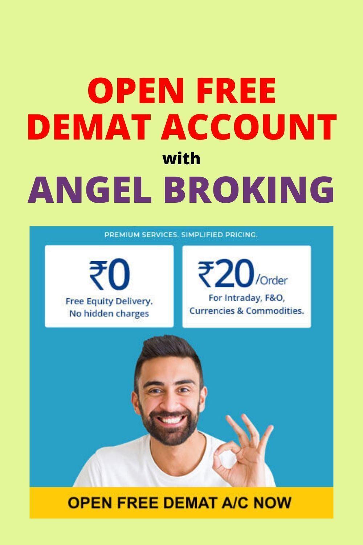 Angel Broking Free Account Opening In 2020 Angel Broking Stock Broker Accounting