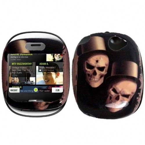 Do you repair for next Halloween? This is a idea for you. Get Ghostly hard case for Sharp Kin One to make your phone more strange-looking!