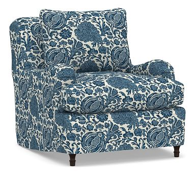 Carlisle Slipcovered Armchair Slipcovered Sectional