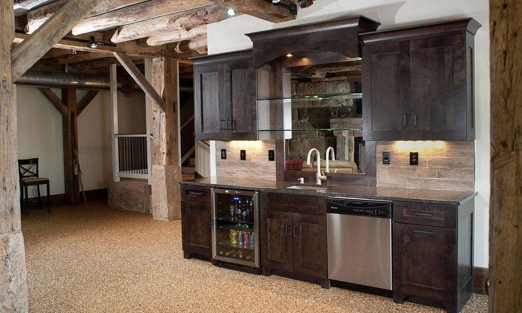 Basement Bar Cabinet Ideas: ... -basement-bar-cabinet