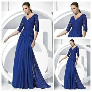 Long Sleeve Evening Dresses 2012