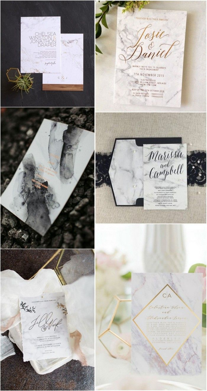 38 Gorgeous Marble Wedding Ideas for 2018 Trends