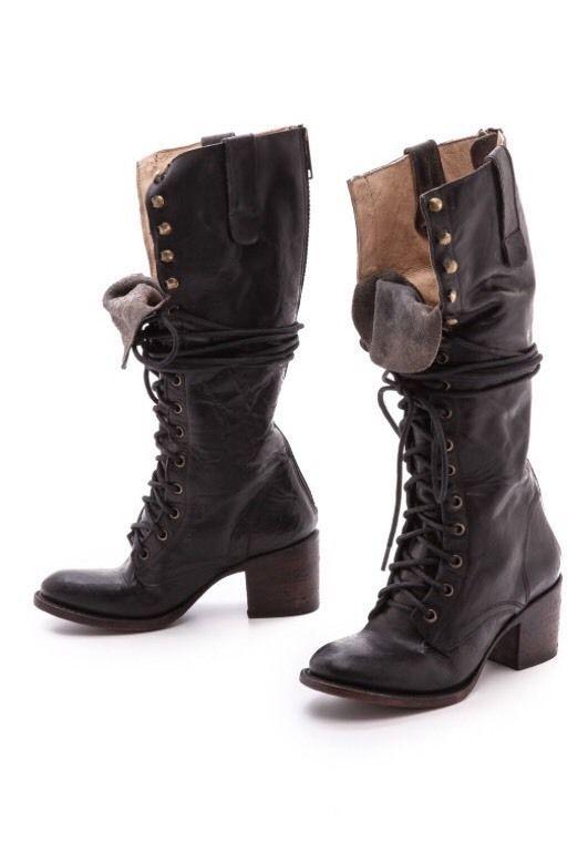 Freebird Steve Madden Retro Style Granny Boots MSRP $350 Sz 6   eBay