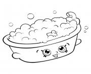 Print Ultra Rare Strawberry Pancake Shopkins Season 6