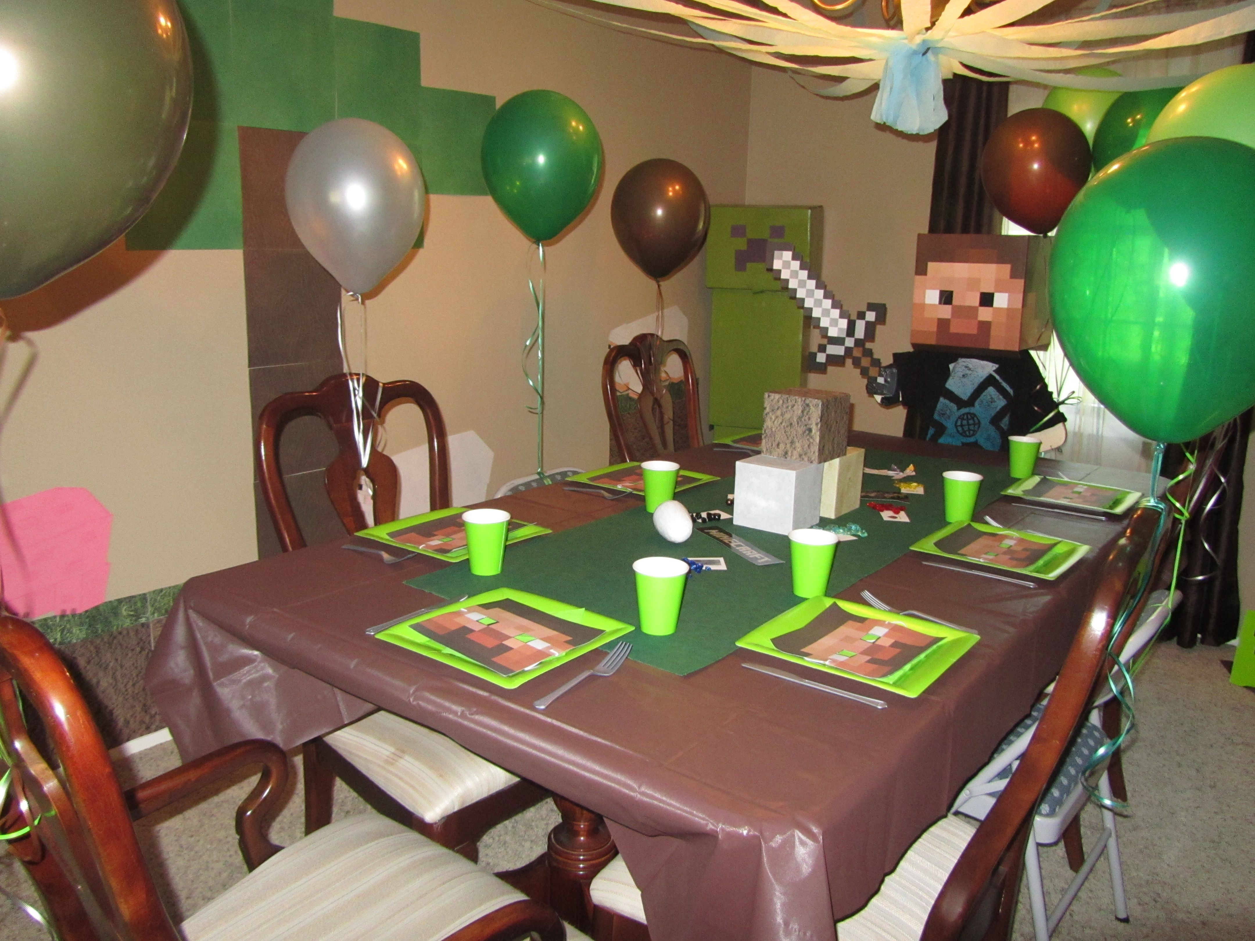 178 best Minecraft Birthday Party Ideas images on Pinterest