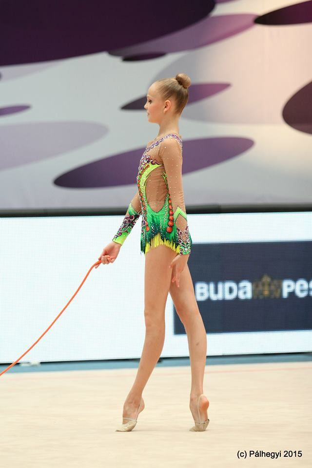 alina ermolova russia world cup budapest 2015 rhythmic gymnastics rope pinterest. Black Bedroom Furniture Sets. Home Design Ideas