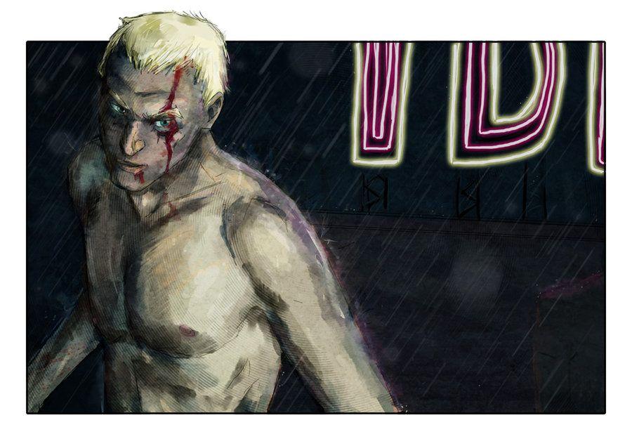 Roy Batty - Blade Runner - Luke Denby