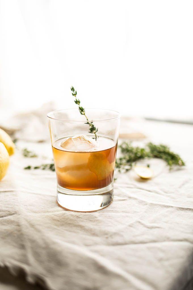 Bourbon Thyme Cocktail | Salted Plains