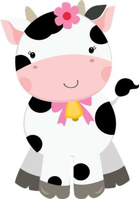 Selma De Avila Bueno Selmabuenoaltran Minus Com Cow Clipart Cow Birthday Baby Cows