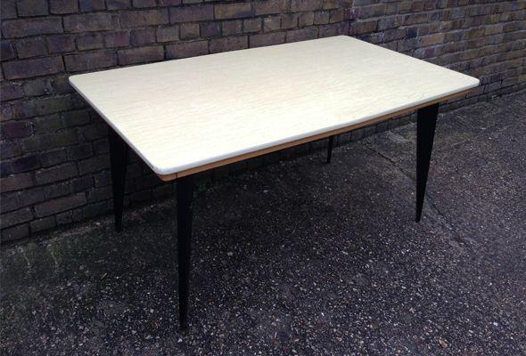 Tavolo Formica Giallo : S yellow formica table formica casa anni e