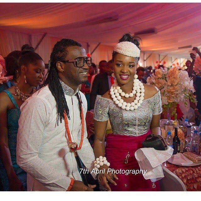 Photo Gallery Nigerian Wedding: More Pictures From Anita Isama & Paul Okoye