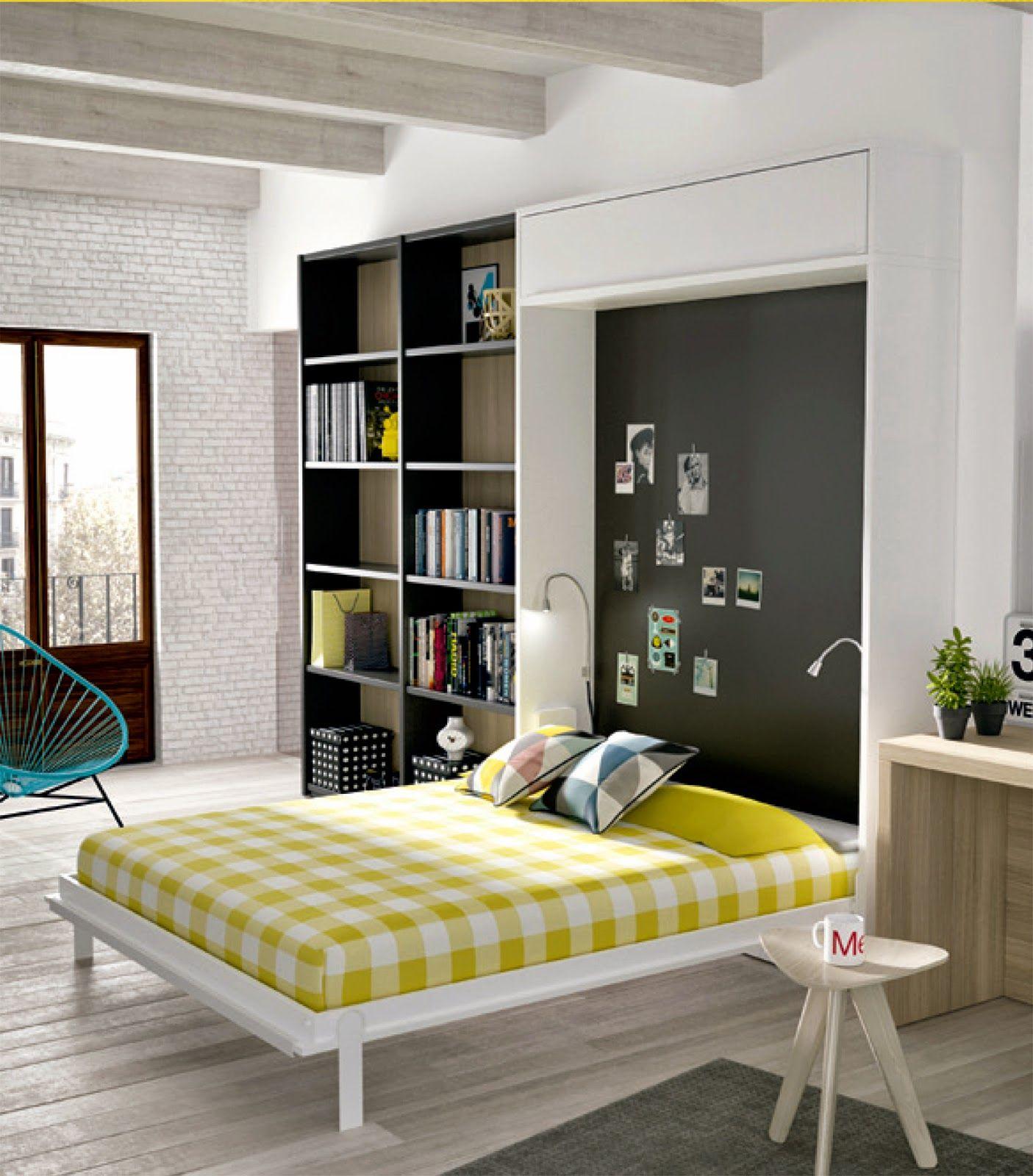Cama de matrimonio abatible vertical apartament - Fabricar cama abatible ...