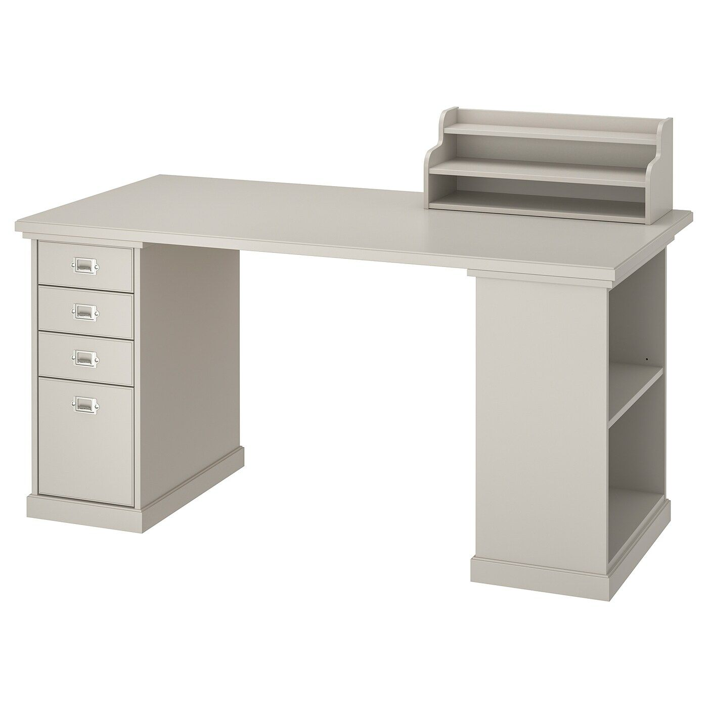 Kallax Workstation Black Brown 30 3 8x57 7 8x62 5 8 Order Here Ikea In 2020 Ikea Painted Drawers Drawer Unit