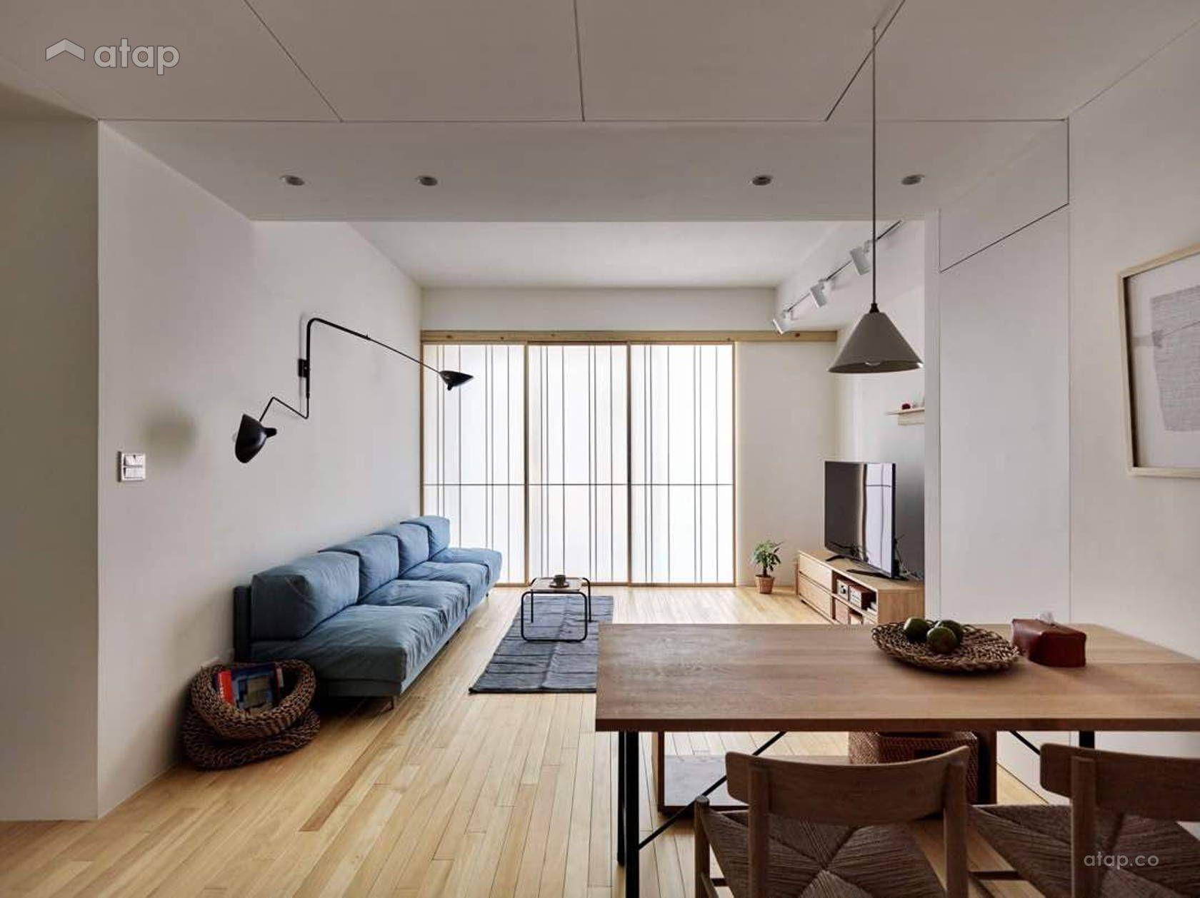 Scandinavian Living Room Apartment Design Ideas Photos Malaysia