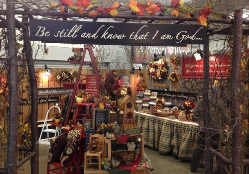 Decorating Craft Booth Ideas