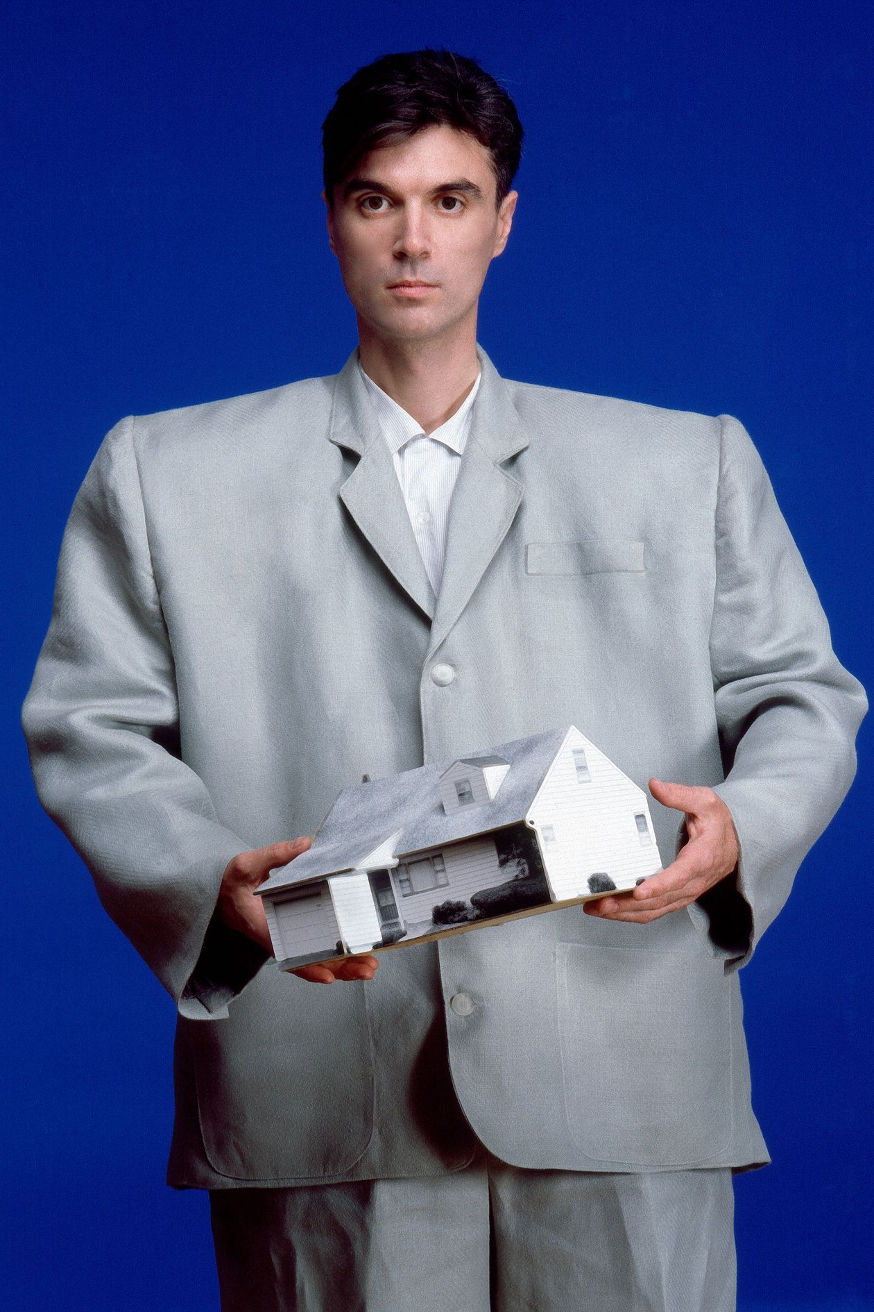 David byrne and talking heads on burning down the house