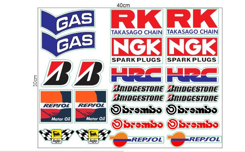 1 Set JDM Racing Sticker Aufkleber Autocollants Pegatinas Digital Print The Doctor Bike Yamaha Moto
