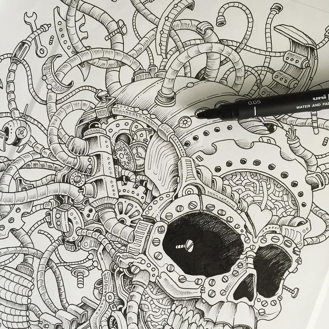 A page from my next coloring book imagimorphia dropping for Imagimorphia coloring pages