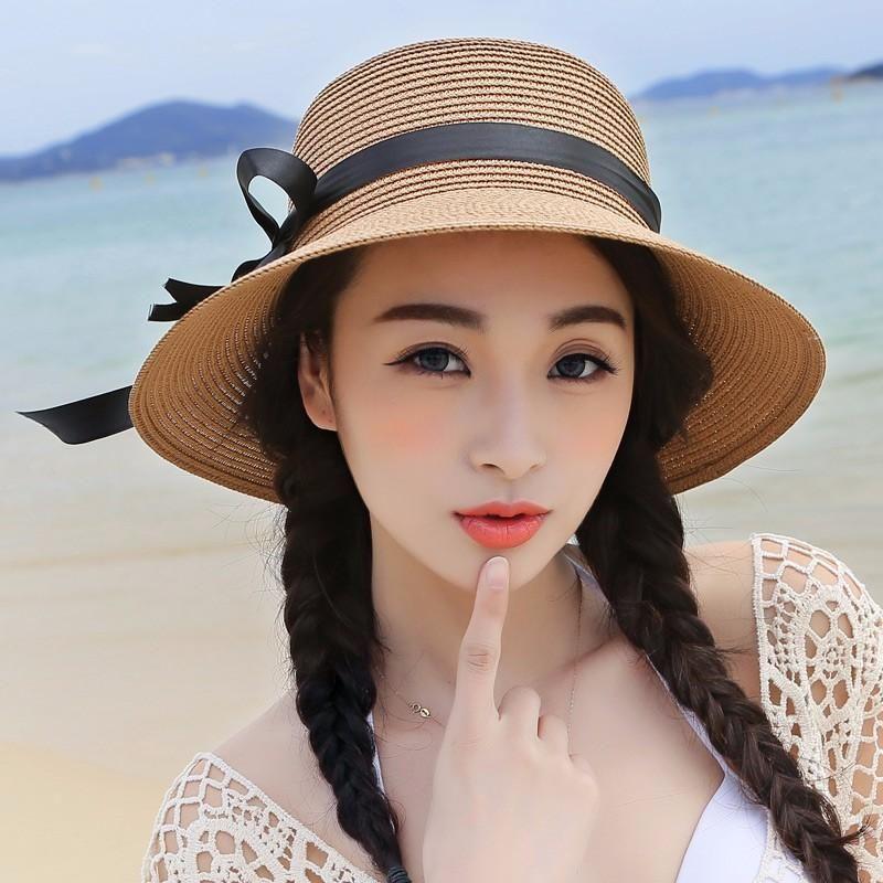 women-s-beach-hats-cap-2016-summer-new-foldable-floppy-hats-ladies ... 50a689cff20