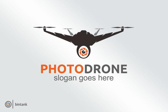 4 Drone Logo By Bintank On Creativemarket