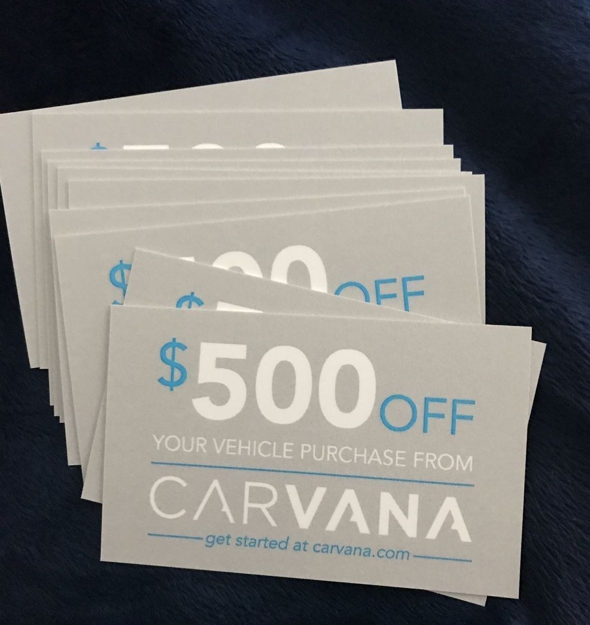 Carvana 500 Coupon Referral Code Delivered Electronically A To Acquire Off