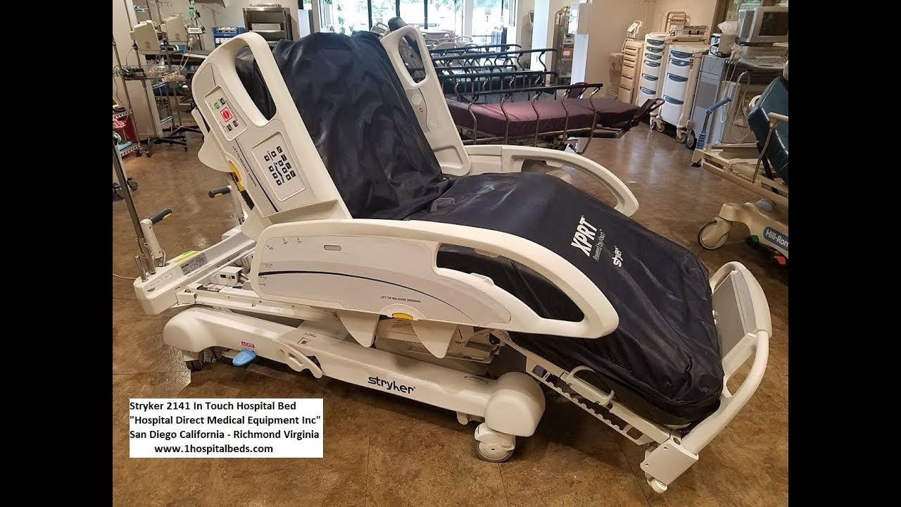 Stryker 2141 InTouch Hospital Bed (With images) Hospital