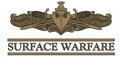 Surface Warfare Officer Decal Products Pinterest Warfare and
