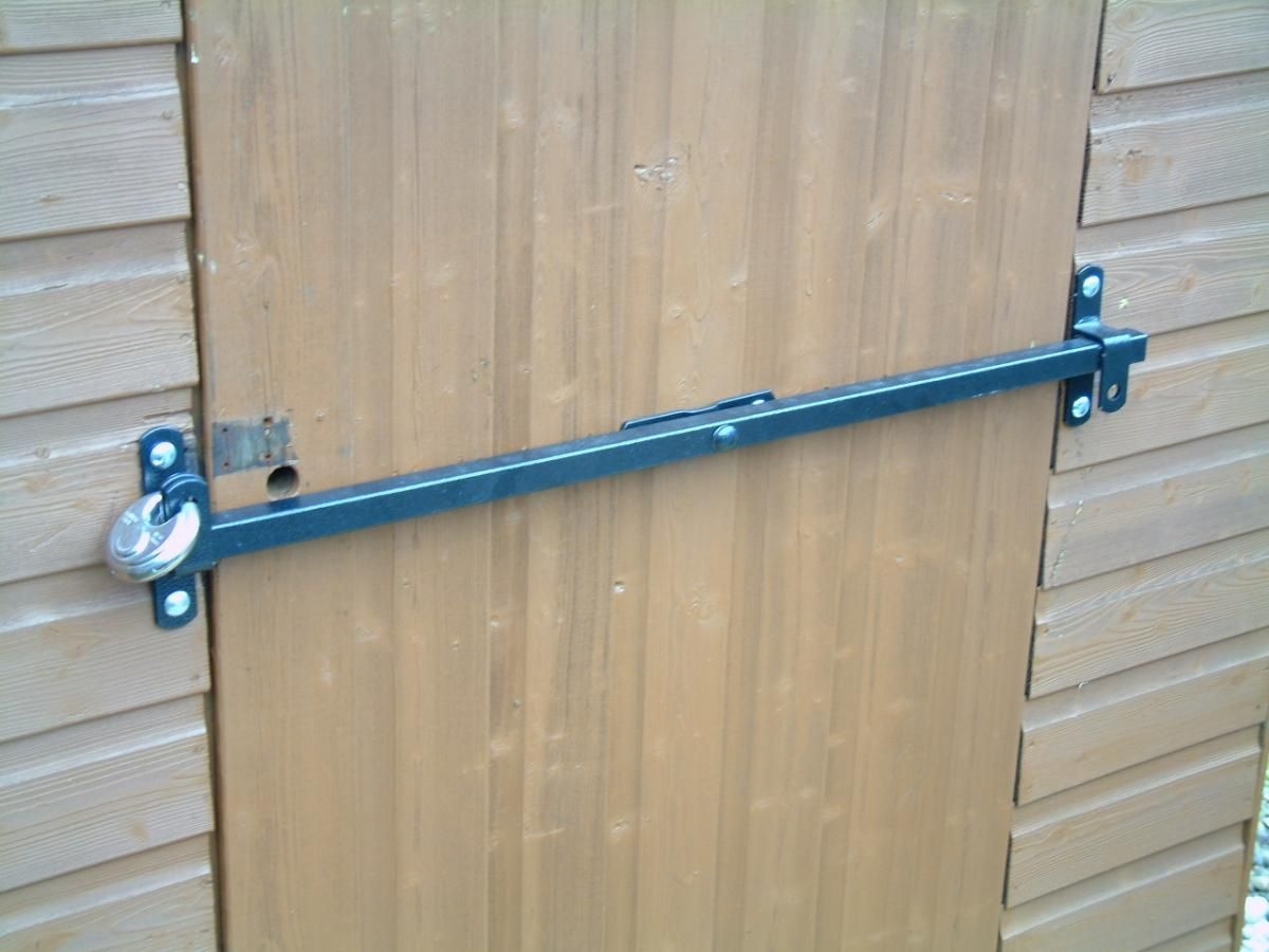 Exterior Door Security Bar