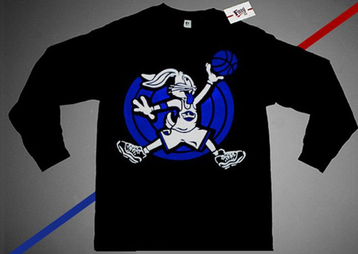 28c4a2b2ad674c Space T Shirts Ideas  spaceshirts  spacetshirts Nwt xi Fnly94 Long Sleeve  Space Jam air Bugs shirt jordan 11 blue S M L XL 2XL -  16.99 End Date   Thursday ...
